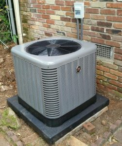 AFTER: New Ruud Air Conditioning Unit Installed by A&K