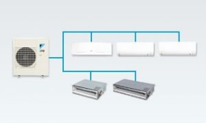 Daikin Ductless Multi-Split System Atlanta