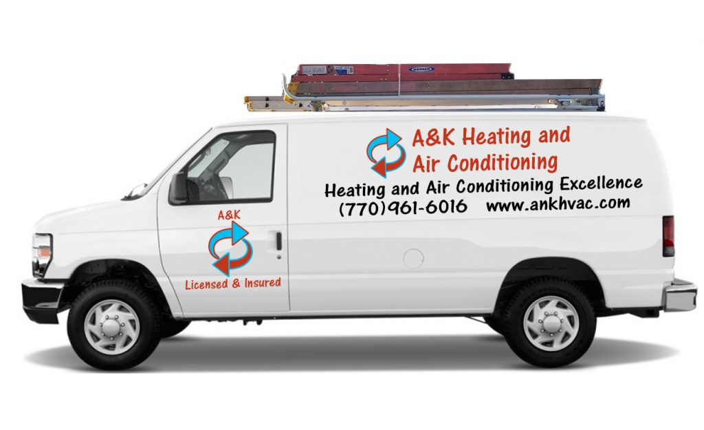 A&K Heating and Air Conditioning. Heating and Air Conditioning Excellence!