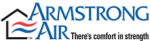 Armstrong Air Heating and Cooling Logo