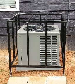 Atlanta Heating and Cooling Equipment Security Cage - Armor II