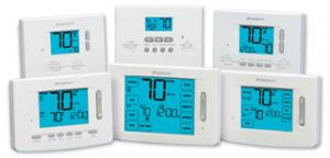 A selection of the Braeburn Thermostat Products