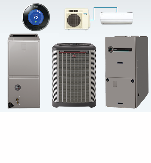 EQUIPMENT: We install your systems to ensure they run at the highest efficiency and are most effective. This saves money and downtime for any HVAC system owner.
