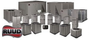 Ruud HVAC Equipment - The full line of products including the New EcoNet Control Platform
