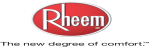Rheem cooling and heating equipment logo
